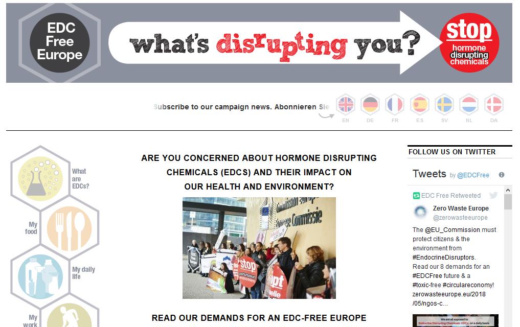 EDC-Free Website