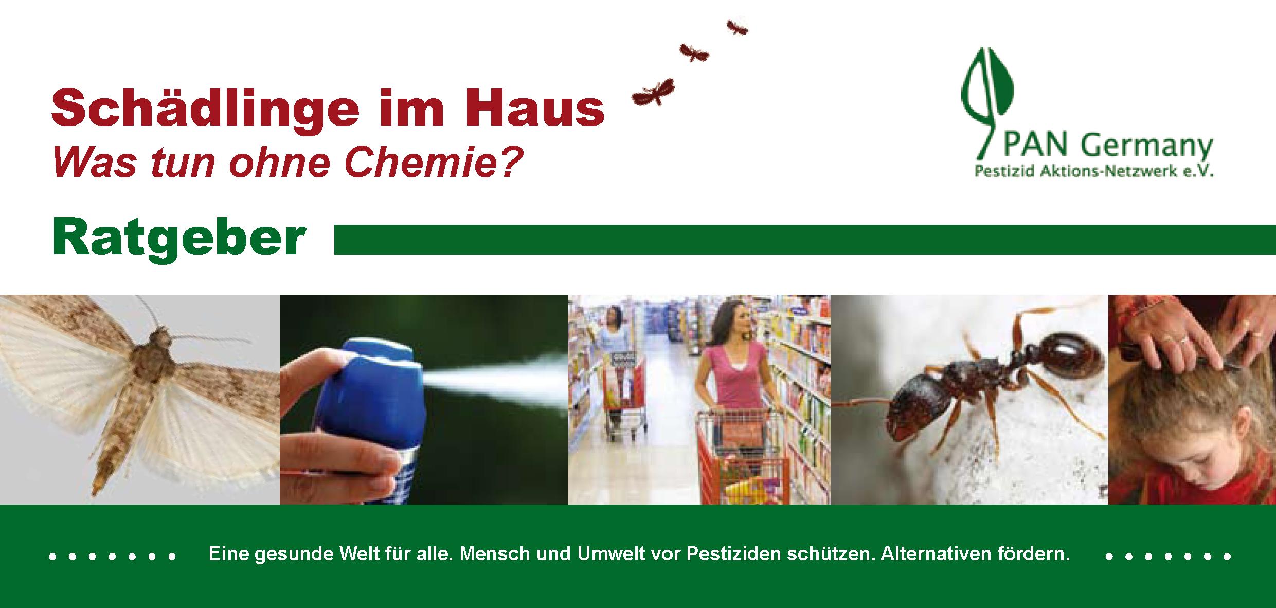 Schadlinge Im Haus Was Tun Ohne Chemie Pestizid Aktions Netzwerk