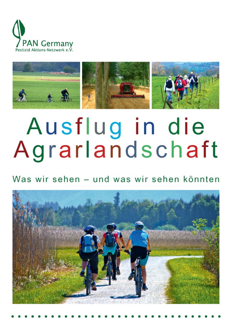 Cover Ausflug in die Agrarlandschaft