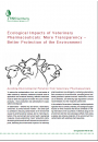 Ecological Impact of Veterinary Pharmaceuticals