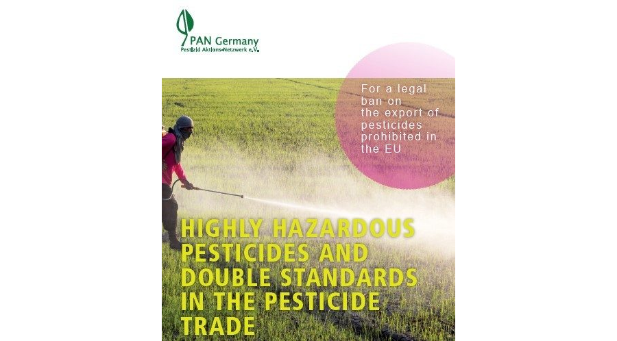 Brief summary on HHPs and double standards in trade of pesticides