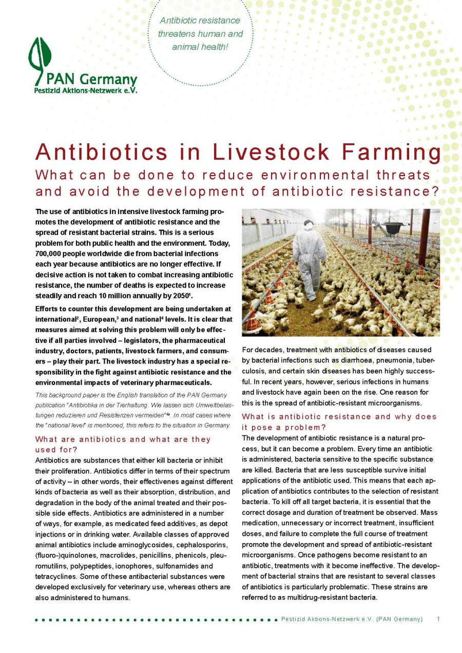 Antibiotics in Livestock Farming