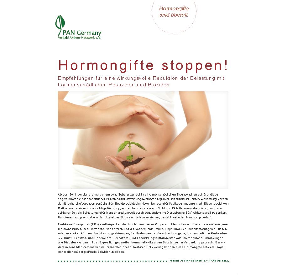 Hormongifte stoppen!