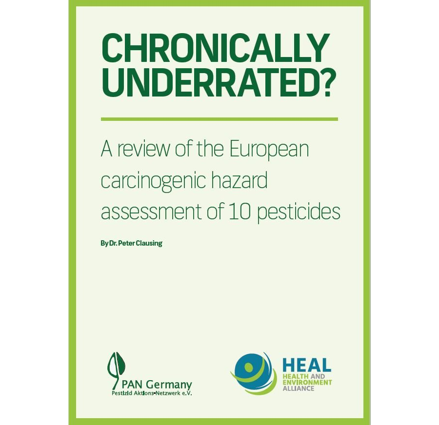 Summary: CHRONICALLY UNDERRATED? A review of the European carcinogenic hazard assessment of 10 pesticides