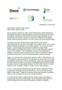 Joint letter in reaction to the Strategic Approach on Pharmaceuticals in the Environment