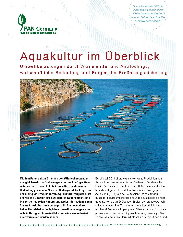 Aquakultur im Überblick